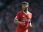 Joe Gomez in action during the Premier League game between Liverpool and Crystal Palace on August 19, 2017