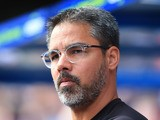 David Wagner watches on during the Premier League game between Huddersfield Town and Newcastle United on August 20, 2017
