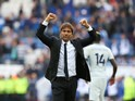 Antonio Conte is king of the world after the Premier League game between Leicester City and Chelsea on September 9, 2017