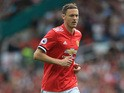 Manchester United midfielder Nemanja Matic in action during a Premier League clash with West Ham United