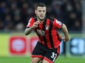 Bournemouth midfielder Jack Wilshere in action during his side's Premier League clash with Swansea City at the Liberty Stadium on December 31, 2016